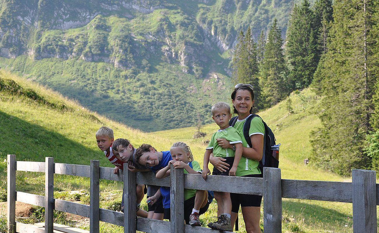 <p>Sommerurlaub im Bregenzerwald</p>