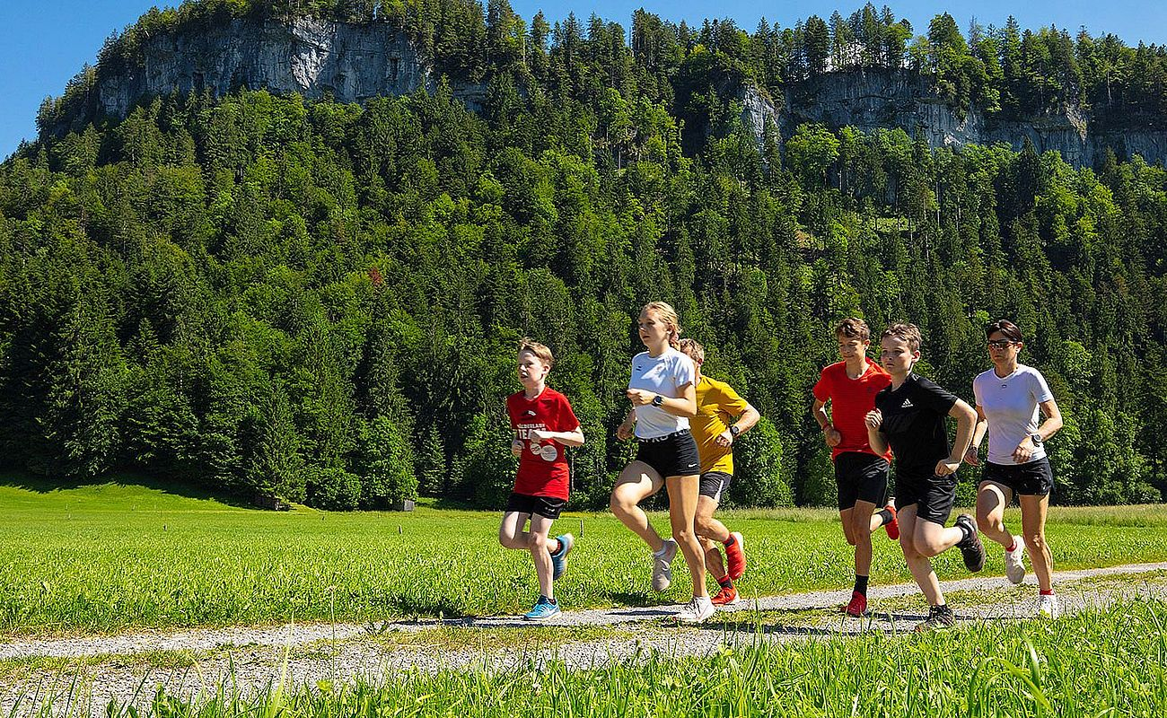 <p>Laufveranstaltungen<br /> im Bregenzerwald</p>